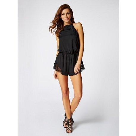 GUESS kombinezon z koronka The Flirty Romper XS/S