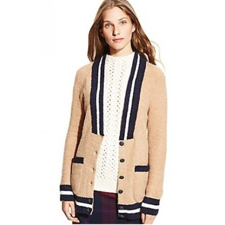 TOMMY HILFIGER cardigan with TH M logo
