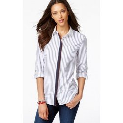 TOMMY HILFIGER striped shirt with decorative front