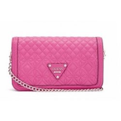 GUESS quilt quilted SUNSET Quilt Flap Crossbody