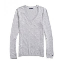TOMMY HILFIGER dot sweater NEW L