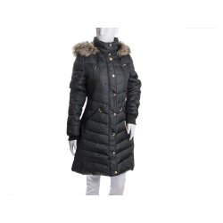 MICHAEL KORS quilted down feather coat