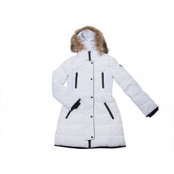 GUESS winter white coat S