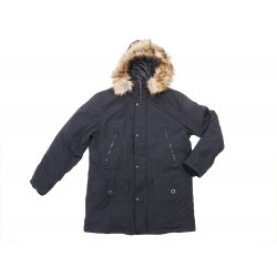 GUESS winter black park jacket L
