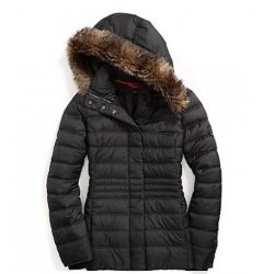 TOMMY HILFIGER warm down jacket women's jacket from USA