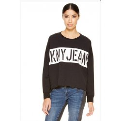 DKNY black sweatshirt with the word ORIGINAL S , oversize