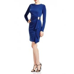 MICHAEL KORS sapphire dress with buckle XS