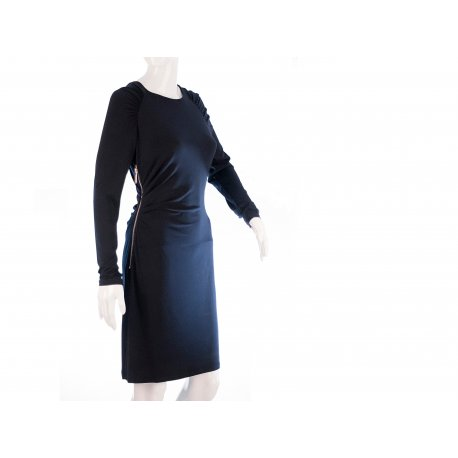 MICHAEL KORS elegant navy blue dress S