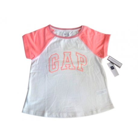 GAP T-shirt with the logo of the US sequin 6-7 years Original