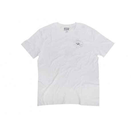 CONVERSE white t-shirts with logo on the back M