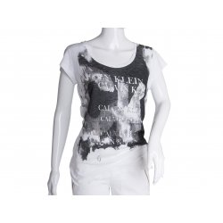 CALVIN KLEIN Women's t-shirt modal XL ORIGINAL