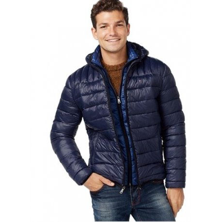 TOMMY HILFIGER ultra light quilted L / XL jacket