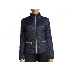 MICHAEL KORS elegant blue feather jacket S
