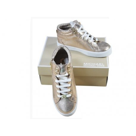 MICHAEL KORS sneakers ROSE GOLD 35 oryg USA