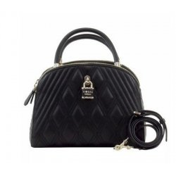 GUESS SHEA CALI SATCHEL QUILTED, HANDBAG,BAG