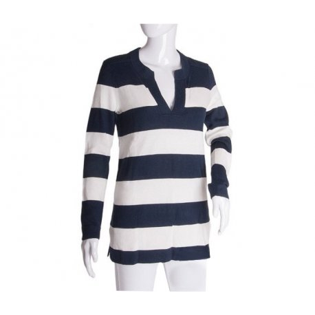 TOMMY HILFIGER striped sweater with logo S from USA