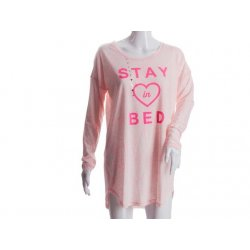 VICTORIA`S SECRET pink nightgown STAY IN BED S