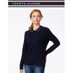 TOMMY HILFIGER cardigan decorated collar