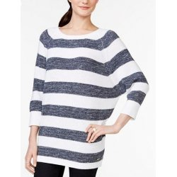 TOMMY HILFIGER sweater striped oversize L