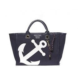 TOMMY HILFIGER handbag, tote, bag, anchor with pouch