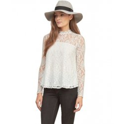 ABERCROMBIE & FITCH lace blouse M