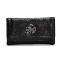 GUESS wallet ENAMEL QUATTRO G SLIM CLUTCH
