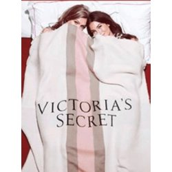 VICTORIA`S SECRET ultra soft blanket with logo VS
