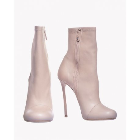 DSQUARED2 botki Ghost Sand Ankle Stiletto Boots