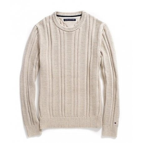 TOMMY HILFIGER sweater with logo XL buttons