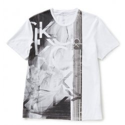 CALVIN KLEIN T-shirt metallic L/XL