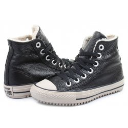 CONVERSE CTAS HIGH STREET HI 44 leather sneakers