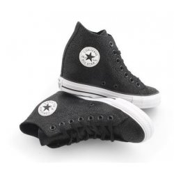 CONVERSE All Star CTAS Luxury Mid Wedge Sneakers size 5