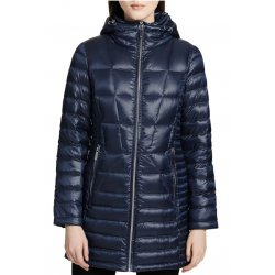 CALVIN KLEIN Women's Packable Down Coat in Shine Dark Indigo size: S