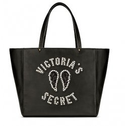 VICTORIA`S SECRET Angel Tote Embellished with Pearls and Sequins, Handbag