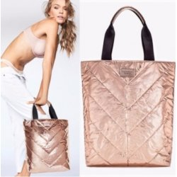 VICTORIA`S SECRET torebka pikowana rose gold