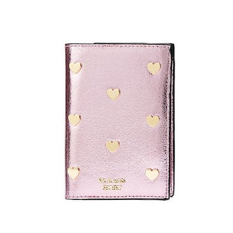 Victoria's Secret passport holder + luggage pendant