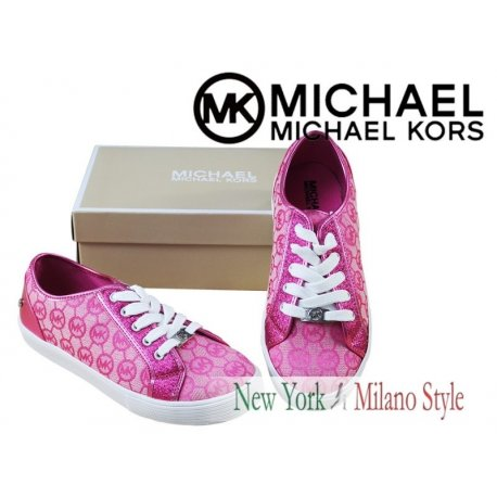MICHAEL KORS women sneakers signed MK 36 logo