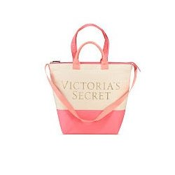 VICTORIA`S SECRET Beach Cooler Tote Bag 2 in 1 Limited Edition