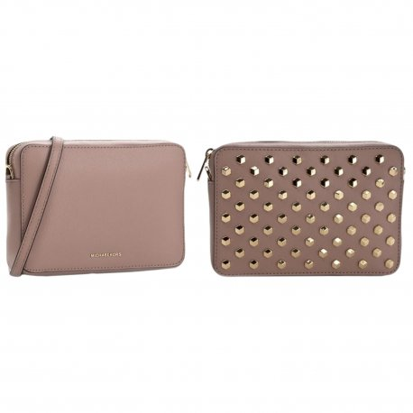 MICHAEL KORS torebka Scout Studded Leather Crossbody