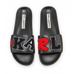 Karl Lagerfeld Paris Monamor Slide Pool Sandal 6