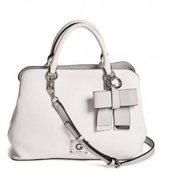 GUESS JAYDA COLOR-BLOCK SATCHEL