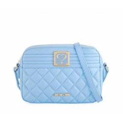 Love Moschino Quilted Napa Faux Crossbody Bag