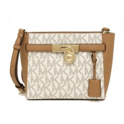 MICHAEL KORS Hamilton Traveler Medium Top Zip Messenger, Handbag