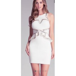 BEBE women bandage dress basquine XS / S