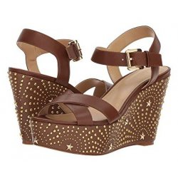 MICHAEL KORS Sia Wedge Sandals size: 6