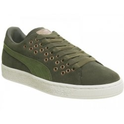 PUMA Women's Green ''s Suede Xl Lace Vr Trainers size: 9