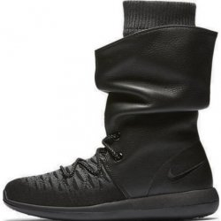 Nike Womens Roshe Two Hi Flyknit Trainers 861708 Sneakers Boots size: 5