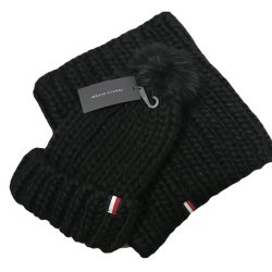 TOMMY HILFIGER Woman`s Winter Knit Pom Hat, Beanie