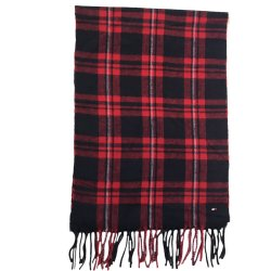 TOMMY HILFIGER Men`s Wool Scarf, Shawl