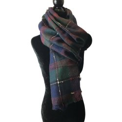 TOMMY HILFIGER Women`s Wool Scarf, Shawl